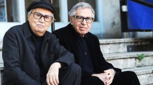 Italian directors Vittorio (L) and Paolo