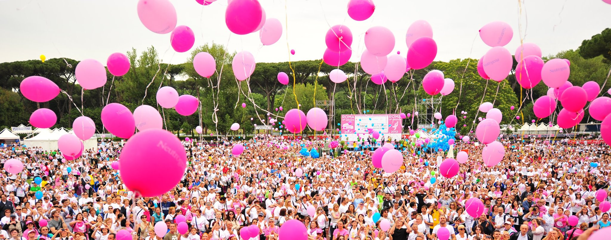 Race for the Cure: a Roma contro il tumore al seno.